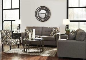 Brand New leather/fabric living room groups ranging $1180-$3600