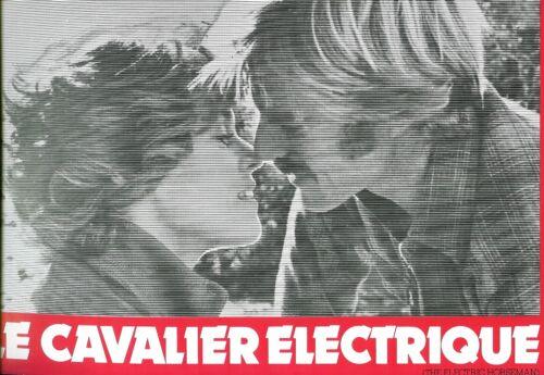 Robert REDFORD - Jane FONDA - Sidney POLLACK  french Pressbook ELECTRIC HORSEMAN