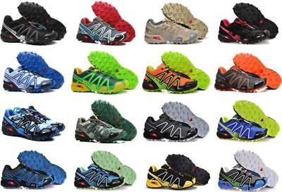 New Men's Boy Speed cross 3 Athletic Running Sports Outdoor Hiking Camp (Camp Sport Shoe)