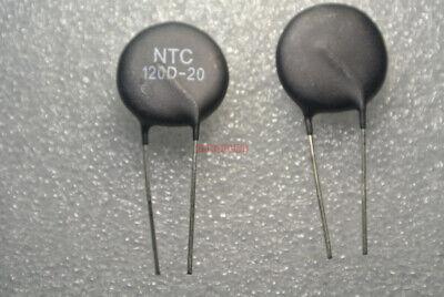 10pcs 120 Ohm Power Ntc Thermistor Surge Current Limiting Mf72-120d20