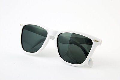 Junior Banz Aviator Arctic White Wayfarer Kidz Sunglasses with Case, Age (Baby Banz Sunglasses Case)