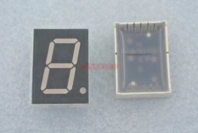 0.8 Inch Segment Led 1-digit 7-seg Common Cathode Illuminated Blue X10pcs