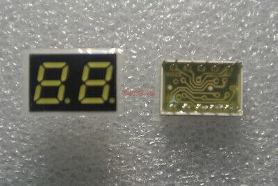0.28 Inch Segment Led Display 2-digit 7-seg Common Anode Emitted White 10pcs