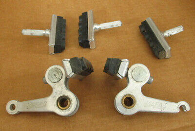 Vtg NOS Shimano Tourney Cantilever Bicycle Front Center Pull Brake Caliper Pads