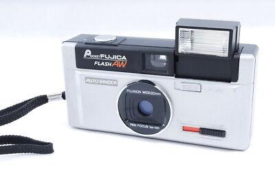 *Near Mint* Fuji Pocket Fujica Flash AW 110 Film Miniature Camera from Japan