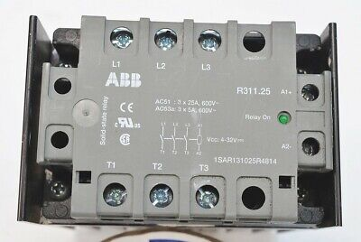 Abb 3-phase Solid State Relay Module Model Kk-r311-08 Pn Ghr3 109 401 P 0001