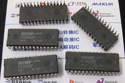 1x Pcm58p-j Precision 18-bit Monolithic Audio Digital-to-analog Converter Pcm58