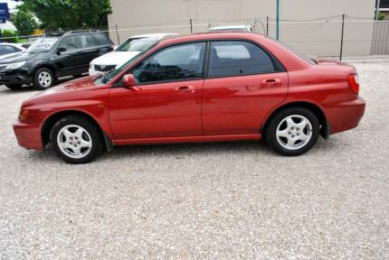 2000 Subaru Impreza S GX Sedan 4dr Auto-LOW-165-K ONLY
