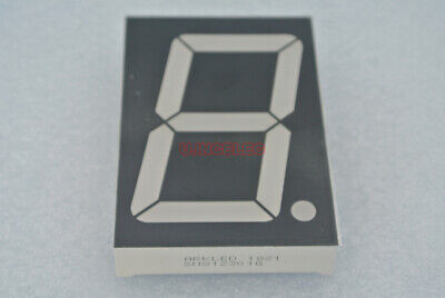 2.3 Inch Led Display 1-digit 7-seg Segment Led Common Anode Illuminated Green