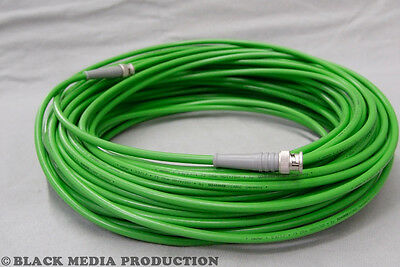 BNC HD-SDI Video Kabel SC-Vector 0.8/3.7 grün | Telegärtner HD-BNC *NEU* Hd-sdi