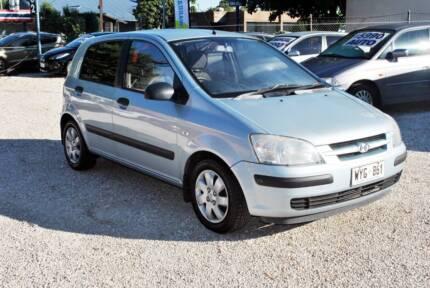 2003 Hyundai Getz -Hatchback 5dr Man LOW-157KMS