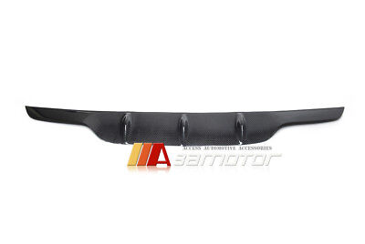 Carbon Fiber AMG Style Rear Bumper Diffuser Cover for Mercedes W205 C63 Sedan for sale  USA