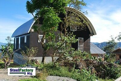 Steel Manufactured 30x30x14 Arched Quonset Barn Farm Building Kit Factory Direct