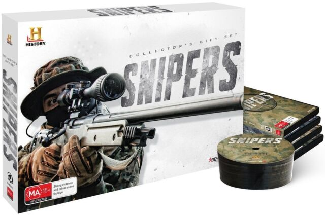 SNIPERS Collector's Gift Set DVD HISTORY CHANNEL BRAND NEW 4-DISCS BOX SET R4