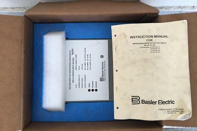 Basler Electric *New* EL 200-20 / EL200-20 Excitation Limiter Regulator NIB