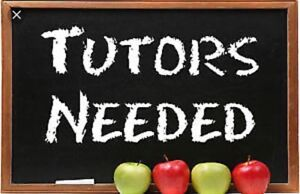 English and French tutors needed