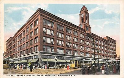 ROCHESTER, NY New York SIBLEY, LINDSAY & CURR CO DEPARTMENT STORE  1915 (Rochester New York Department Stores)