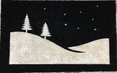 Christmas Winter Night - All Natural Coir Door Mats 20