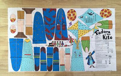 Fedora & Her Kite Fabric Panel KIT Toy Doll Elinor Peace Bailey Daisy Kingdom