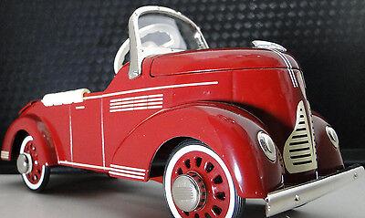 Pedal Car 1930s Buick Rare Vintage Classic Sport Metal Midget Model