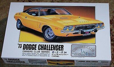 Arii 1973 Dodge Challenger model kit 1/24