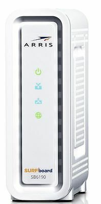 New Arris Surfboard Sb6190 Docsis 3 0 Technology Gigabit   Cable Modem   Twc
