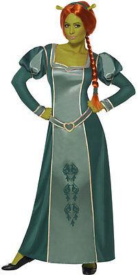 Fiona Shrek Kostüm für Damen NEU - Damen Karneval Fasching Verkleidung Kostüm