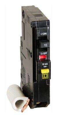 Brand New Square D Qo Qwik-gard 15 Amp Single-pole Gfci Circuit Breaker
