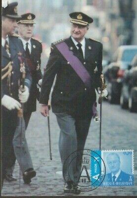 """Belgique België 2005, Carte maximum,"""" Roi Albert II """" neuve, très bien"""