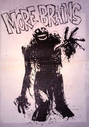 HORROR BACK PATCH - Tarman - Return of the Living Dead, More Brains Zombie