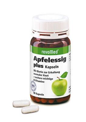 180 Apfelessig Plus Biotin Kapseln (2 Dosen) von Revomed
