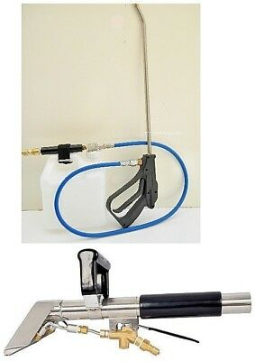 Carpet Cleaning Stair Tool Wand - Inline Sprayer Combo.