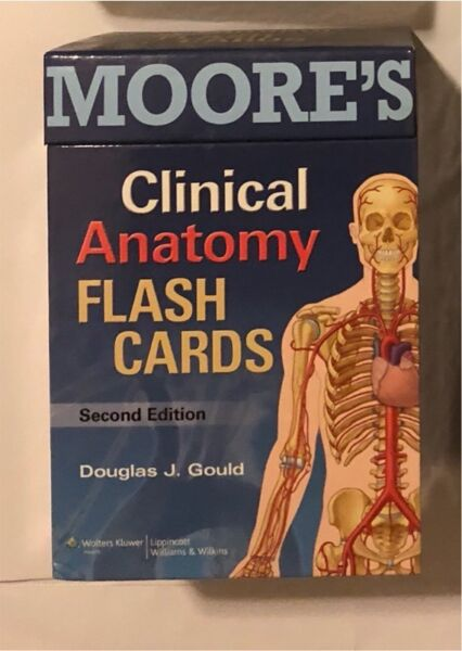 Moore\'s Clinical Anatomy FLASH CARDS 2nd Ed | Textbooks | Gumtree ...