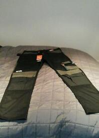 Scruffs work trousers 34 long (NEW )
