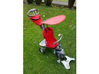 Red Childrens boy girl Smart Trike