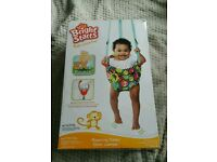 Bright Starts Roaming Safari Door Jumper Bouncer Baby Girl Boy Gift hardly used