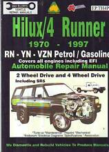 TOYOTA HI-LUX /  4RUNNER PETROL 2WD 4WD  WORKSHOP  MANUAL 1970-97 Sefton Bankstown Area Preview
