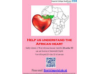 Adults of WEST AFRICAN descent needed for 3D heart scan