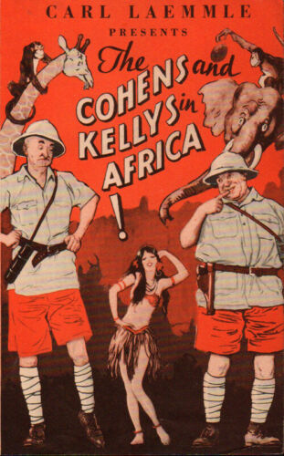 Cohens and the Kellys in Africa Original Movie Herald from the 1930 Movie