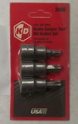 KD Tools 3406 Torx Bit Brake Caliper Socket Set USA ()