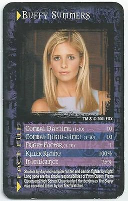 Play with friends and win every time with the Buffy card