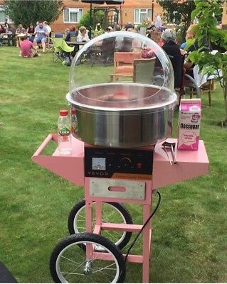 Candy Floss Machine HIre Manned with Attendant London for sale  Purfleet