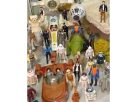 WANTED: VINTAGE STAR WARS TOYS