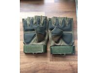 Army tactical gloves half finger