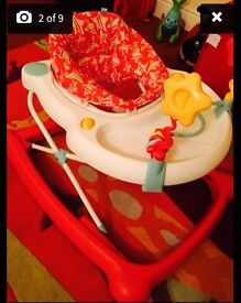 REDUCED Mothercare Star Baby Walker - Excellent Quality