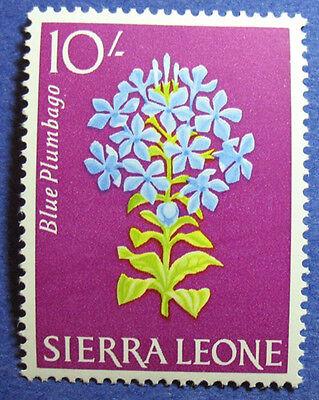 1963 SIERRA LEONE 10S SCOTT# 238 S.G.# 253 UNUSED CS08036