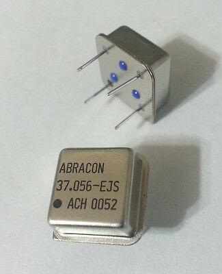 Crystal Oscillator Clock 37.056mhz Dip-8 Hcmosttl Abracon Ach-37.056-ejs 40pcs