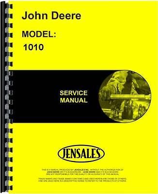 John Deere 1010 Crawler Service Manual Jd-s-sm2034