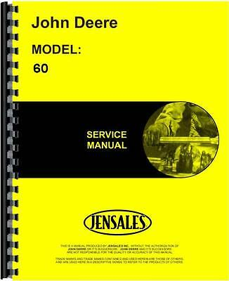 John Deere 60 Skid Steer Loader Service Manual