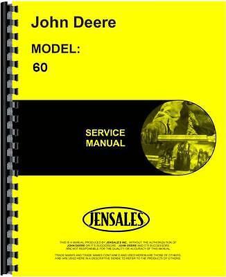 John Deere 60 Skid Steer Loader Service Manual
